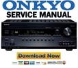 Thumbnail Onkyo TX-SR608 Service Manual and Repair Guide