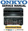 Thumbnail Onkyo TX-SR806 SA806 Service Manual and Repair Guide