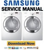 Thumbnail Samsung DV365ETBGWR Service manual and Repair Guide
