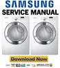 Thumbnail Samsung DV365ETBGWR Service manual and Repair Guide