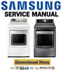 Thumbnail Samsung DV484ETHAWR DV484ETHASU Service manual and Repair Guide