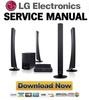 Thumbnail LG HT554TH SH54TH-F Service Manual and Repair Guide