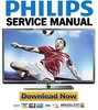 Thumbnail PHILIPS 40PFL5007H Service Manual and Repair Guide