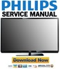 Thumbnail PHILIPS 42PFL3507H Service Manual and Repair Guide