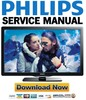 Thumbnail Philips 40PFL4707 Service Manual and Repair Guide