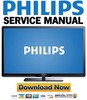 Thumbnail Philips 50PFL3707 Service Manual and Repair Guide