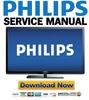 Thumbnail Philips 50PFL3807 Service Manual and Repair Guide