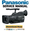 Thumbnail Panasonic AG-HMC40 HMC41 HMC43 Service Manual and Repair Guide