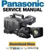 Thumbnail Panasonic AJ-HPX2000 HPX2100 Service Manual and Repair Guide