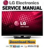 Thumbnail LG 42PA4500-SF Service Manual and Repair Guide