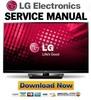 Thumbnail LG 42PA4500-TF Service Manual and Repair Guide