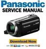 Thumbnail Panasonic HC-V520 + V510 Service Manual and Repair Guide