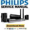 Thumbnail Philips HTS5580W Service Manual & Repair Guide
