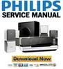 Thumbnail Philips HTS9520 Service Manual & Repair Guide