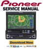 Thumbnail Pioneer AVIC N1 X1 Service Manual & Repair Guide