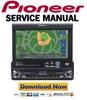 Thumbnail Pioneer AVIC N1 X1 Service Manual & Repair Guide