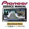 Thumbnail Pioneer AVIC-Z140BH Service Manual & Repair Guide