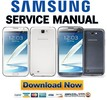 Thumbnail Samsung Galaxy Note II GT N7100 Service Manual & Repair Guide