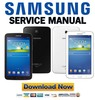 Thumbnail Samsung Galaxy Tab 3 SM T2100 Service Manual & Repair Guide