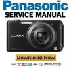 Thumbnail Panasonic DMC-SZ5 Service Manual and Repair Guide
