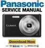 Thumbnail Panasonic Lumix DMC-F5 Service Manual and Repair Guide