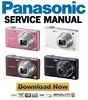 Thumbnail Panasonic Lumix DMC-SZ3 Service Manual and Repair Guide