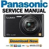 Thumbnail Panasonic Lumix DMC-SZ9 Service Manual and Repair Guide