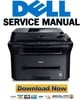 Thumbnail Dell 1133 + 1135N Service Manual & Repair Guide