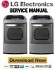Thumbnail LG DLEY1201V DLEY1201W Service Manual & Repair Guide