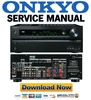 Thumbnail Onkyo HT R990 Service Manual & Repair Guide