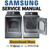 Thumbnail Samsung DV456GTHDSU DV456ETHDSU Service Manual & Repair Guide