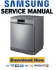 Thumbnail Samsung DW-FN320T + FN320W Service Manual & Repair Guide