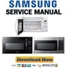 Thumbnail Samsung SMH1816B SMH1816W SMH1816S Service Manual & Repair Guide