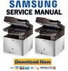 Thumbnail Samsung CLX-6260FR Printer Service Manual and Repair Guide