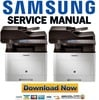 Thumbnail Samsung CLX-6260FW Printer Service Manual and Repair Guide