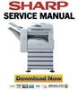 Thumbnail Sharp AR-M316 M317 M318 Service Manual & Technical Documentation