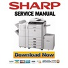 Thumbnail Sharp MX-4101N 4100N Service Manual & Repair Guide