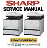 Thumbnail Sharp MX-C300 C300F C300W C300WE Service Manual & Technical Documentation