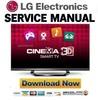 Thumbnail LG 47LM6400 UA Service Manual and Repair Guide