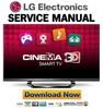 Thumbnail LG 65LM6200 UB Service Manual and Repair Guide