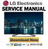 Thumbnail LG 47LA620S Service Manual and Repair Guide