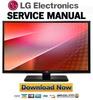 Thumbnail LG 32LN520B-ZA Service Manual and Repair Guide