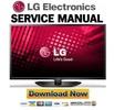 Thumbnail LG 39LN540V Service Manual and Repair Guide