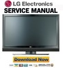 Thumbnail LG-42LC7D-DA Service Manual and Repair Guide