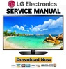 Thumbnail LG-55LN5400-DA Service Manual and Repair Guide