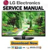 Thumbnail LG 42LN5400-UA Service Manual and Repair Guide