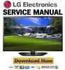 Thumbnail LG 50LN5700-UH Service Manual and Repair Guide