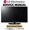 Thumbnail LG 50PN4500-UA Service Manual and Repair Guide