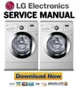 Thumbnail LG-F1089ND Service Manual and Repair Guide
