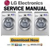 Thumbnail LG F14164WH Service Manual and Repair Guide